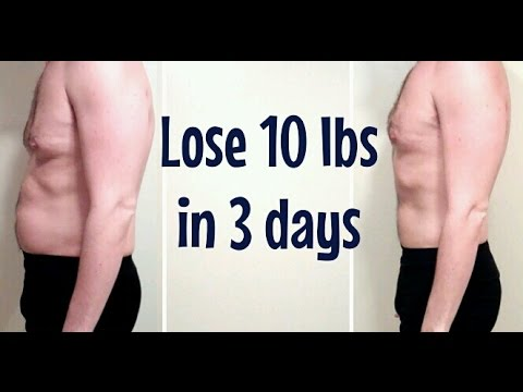 lose weight in 3 days bdah